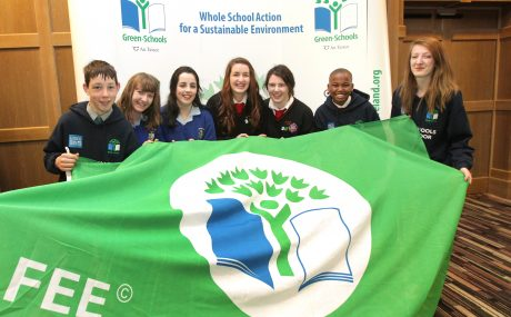 Green-Schools Ambassadors from the 2015/2016 academic year