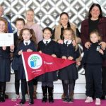 Parents and students from Scoil an Linbh Íosa, Galway City Centre