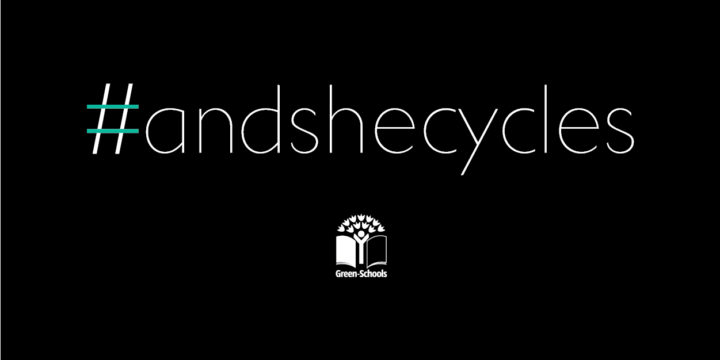 #andshecycles