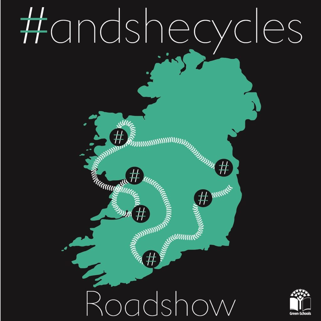 andshecycles Roadshow map